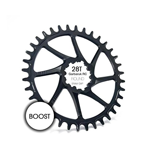 garbaruk monocorona 28T redonda Direct Mount SRAM GXP Boost Negro (monocorone)/Narrow Wide Chainring 28T Round Direct Mount SRAM GXP Boost Black (narrow-wide)