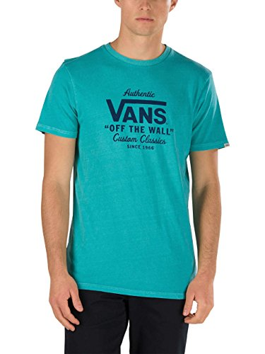Herren T-Shirt Vans Holder Overdye T-Shirt Baltic