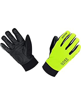 GORE BIKE Wear Guantes Térmicos de Hombre para ciclismo, GORE-TEX, UNIVERSAL Thermo Gloves, Talla 10, Amarillo...