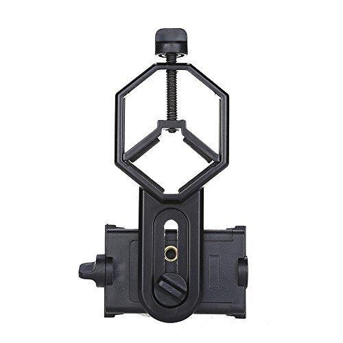 Boblov cm-4 teléfono móvil adaptador compatible con diámetro de 25-48 mm prismáticos/Monocular/telescopio/microscopio/Caza...