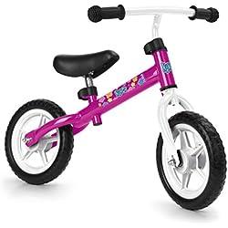 FEBER Nancy - Bicyclette sans pédale, pour filles de 2 à 5 ans, Rose (Famosa 700012480)