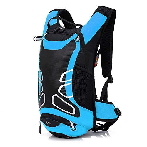 TnXan Waterproof Nylon Bicycle Backpack travel Backpack Casual Daypacks Ultra Light Sports Bag Cycling Bicycle Backpack Packsack Road Bike Bag 12L (Road Bag Bike)