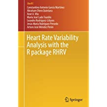 Heart Rate Variability Analysis with the R package RHRV (Use R!)