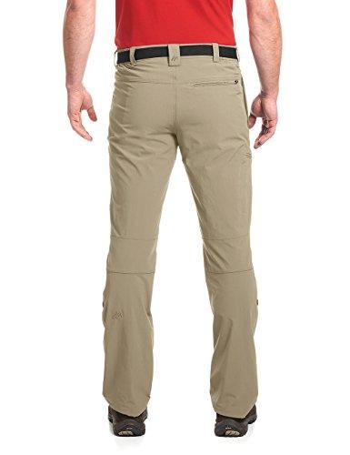 maier sports Wanderhose Roll-Up Nil, Pantaloni Funzionali Uomo Verde (Coriander 778)