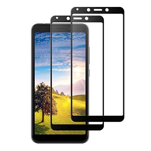 Enshant Cristal Templado Xiaomi redmi 6, Cristal Templado Xiaomi redmi 6A, Protector de Pantalla para Xiaomi redmi 6A[9H Dureza] [Anti-Scratch] Protector Pantalla Xiaomi redmi 6/6A (2 Unidades, Negro)