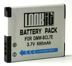LOOKit® Batterie BCL7 / 690mAh pour PANASONIC LUMIX DMC- SZ8 / SZ9 / Panasonic SZ3 / Panasonic FS50 / Panasonic XS3 / Panasonic XS1 / Panasonic F5