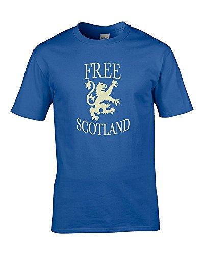 FatCuckoo Herren T-Shirt Königsblau