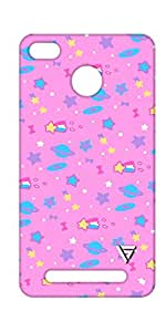 Vogueshell Cartoon Pattern Printed Symmetry PRO Series Hard Back Case for xiaomi Redmi 3s