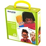 Miniland Emotiblocks Basic Emotions Toy by Miniland Educational Corp