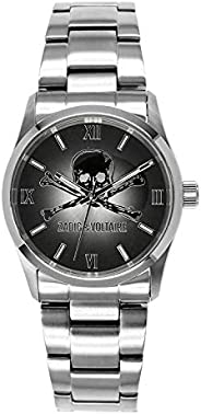 Zadig & Voltaire Wrist Watch for Women Analog, Stainless Steel, ZV00