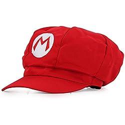 Super Mario Gorra - Disfraz de Adulto y Niños Carnaval y Cosplay - Classic Cappy Cap