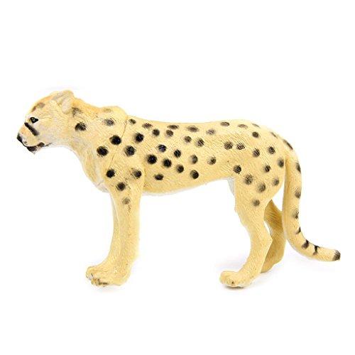 6 Stück Kunststoff Wild Tiere Spielzeug Modell - 7