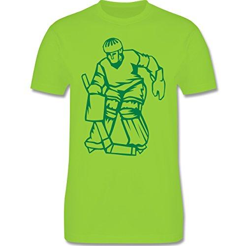 Eishockey - Eishockey - Herren Premium T-Shirt Hellgrün
