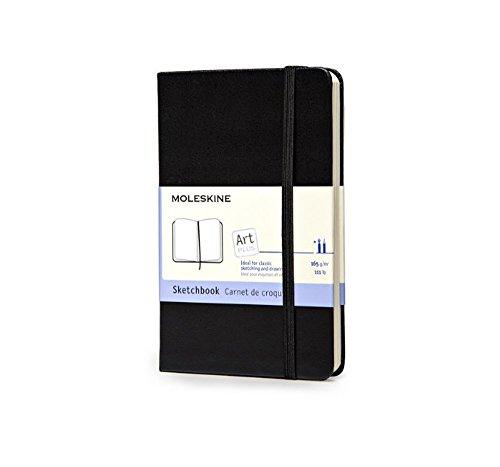 Moleskine Pocket - Skizzenbuch - Fester Einband - Schwarz