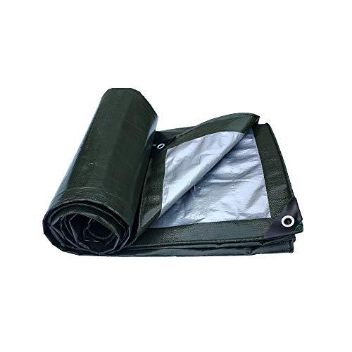 Impermeabilizante Paño Impermeable Grueso De Plástico Al Aire Libre Sombrilla Protector Solar Aislante Lona Toldo Lona Cobertizo de tela (Tamaño : 8 * 12m)