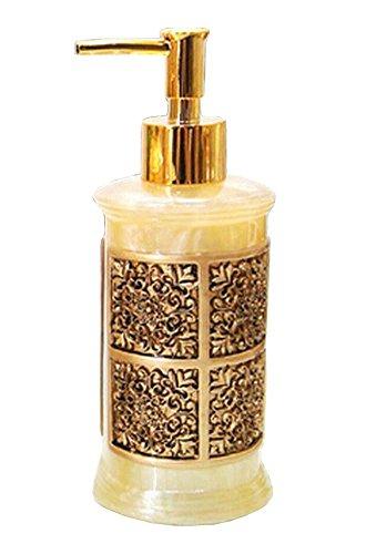 Résine style rétro Distributeur de savon Lotion Bottle Shampoo Container