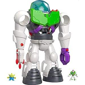 Fisher-Price - Imaginext Disney Toy Story 4  Robot Buzz Lightyear, Juguetes Niños 3 Años (Mattel GBG65)