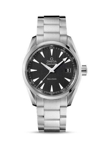 omega-orologi-seamaster-aqua-terra-grigio-quadrante-150-m-23110396006001-impermeabile-da-uomo