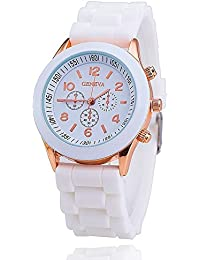 GT Gala Time New Chronograph Dial Design White Color Wrist Watch For Girls & Women