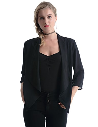 Abollria Gilet femme chic cardigan soie Bolero élégant d'occasion  Livré partout en Belgique