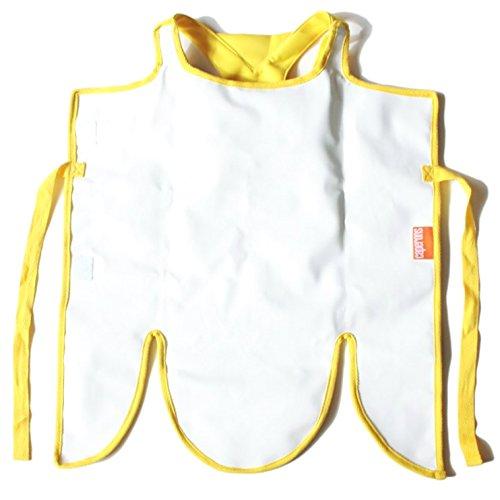 Caperons - Bunte Kinderschürze von allocacoc - abwischbar und wasserabweisend - zuverlässiger Schutz vor Schmutz für Kinder Kleidung ()