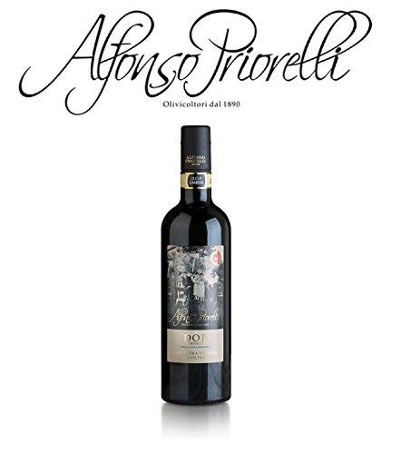 Alfonso priorelli - olio di oliva extra vergine dop umbria colli assisi e spoleto - 0,750 l - cartone da 6 bott.
