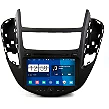 roverone quod Core Android Sistema 8 Inch Doble DIN Autoradio GPS para Chevrolet Trax 2013 2014
