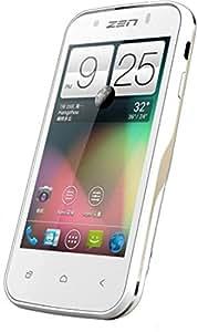 Zen Ultrafone 303 Quad, 1.3GHZ Quad Core, 5.0MP SmartPhone, White+Gold Colour