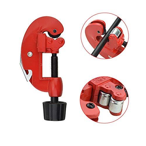 MILAEM Pfeil Schneidmaschine Mini Rohr Schneider Zinklegierung Aufschitzer OD 3mm-28mm Pfeilschaft Aufzuschneide -