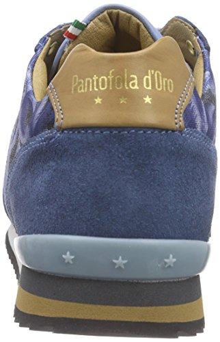 Pantofola d'Oro - Teramo Print, Scarpe da ginnastica Uomo Blu (Blau (BLUE INDIGO))