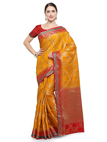 Applecreation Silk Saree With Blouse ( Sarees New Collection 2017 Silk Raws8001)