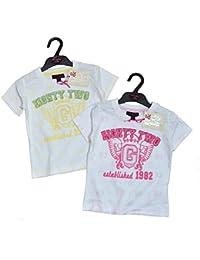 NEW fille t pour femme Soul & Glory T-shirt d'été 2couleurs Young Girl Age 2–5ans