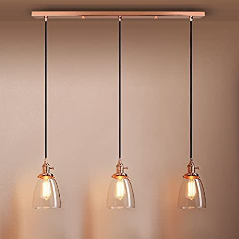 Pathson Industrial Modern Vintage Loft Bar Kitchen Ceiling Pendant Lights