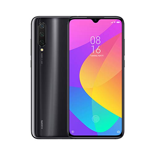"Xiaomi Mi A3 Smartphone, 4+64 GB Pantalla AMOLED Full-Screen de 6,08"", Triple cámara de 48 + 8 + 2 MP, AI Beautify, 4000 mAh, Qualcomm Snapdragon 665 (Xiaomi CC9e) (black)"