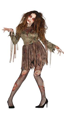 Untote Kostüm Cheerleader - Fiestas Guirca Kostüm Erwachsene Frau Zombie
