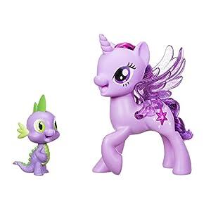 My Little Pony c0718-Princesa Twilight Sparkle & Spike, el dragón-Sing endes Duo (Polish Voz Versión), más Colores