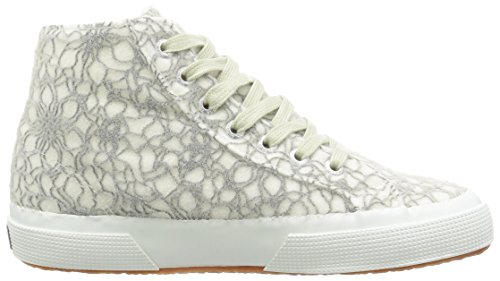 Superga Damen 2795-Microfleece Crystalw Pumps Grigio (Lt Grey/White)