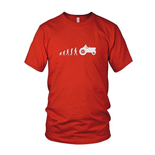 Traktor Evolution - Herren T-Shirt Rot