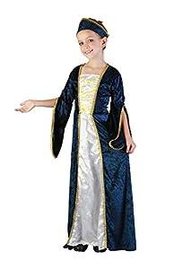 Bristol Novelty Traje Princesa Real (L) Edad aprox 7-9 años