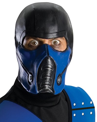 Rubies Mortal Kombat Sub-Zero Maske für Erwachsene One-Size (Halloween-kostüme-mortal Kombat)
