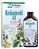 Dr. Förster Kräuteröl 43, 100 ml