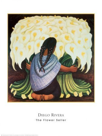 Flower Seller - Poster by Diego Rivera (24 x 30) by Poster (Rivera-flower Diego)