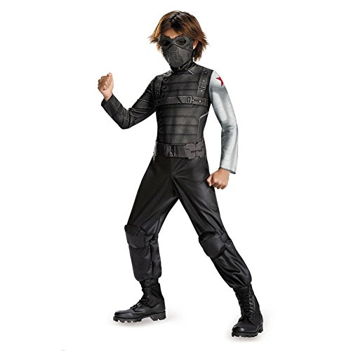 Disguise Marvel Captain America The Winter Soldier Movie 2 Winter Soldier Classic Boys Costume, Small (4-6) by Disguise (Winter Soldier Captain America Kostüm)