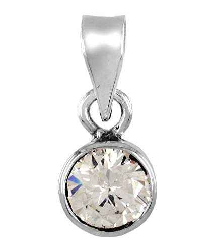 Malabar Gems Lab Certified 10 Ratti/9.0 Carat Zircon Pendant (Locket) in 925 Silver