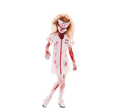 Fyasa 706498-t02Zombie Krankenschwester Kostüm, Mittel