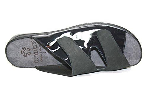 Ganter monica 5–202502 chaussures mules à talons larges g Bleu - Bleu océan