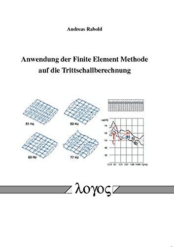 Anwendung der Finite Element Methode auf die Trittschallberechnung