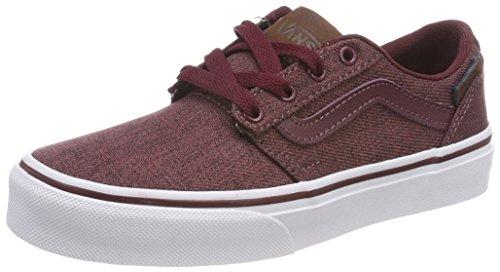 Vans Chapman Stripe, Zapatillas para Niños, Rojo (S18), 37 EU