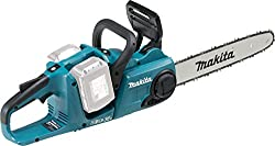 Makita DUC353Z Cordless Chainsaw, 36 V, Blue, Large