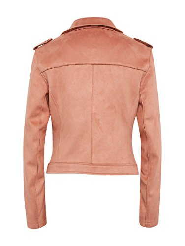 TOM TAILOR Denim Damen Jacke Suede Biker Jacket Original